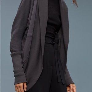 Aritzia Wifred Diderot dark grey sweater